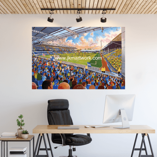 Peterborough United, London Road Football Ground Wall Sticker