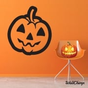 Pumpkin One Wall & Window Sticker