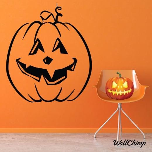 Pumpkin Two Wall & Window Sticker