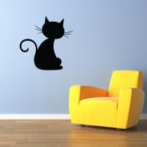 Pussycat One Wall Sticker