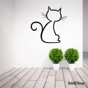 Pussycat Two Wall Sticker