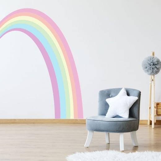 Rainbow Printed Wall Sticker