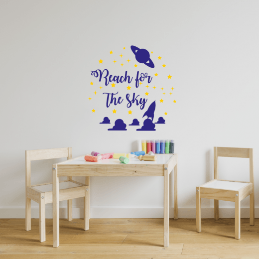 Reach for the Sky Wall Sticker
