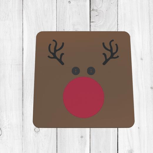 Reindeer Christmas Coaster
