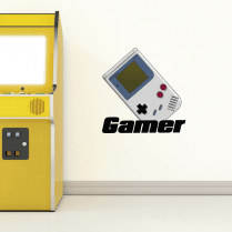 Retro Gamer Wall Sticker