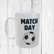 Retro Match Day Football Mug