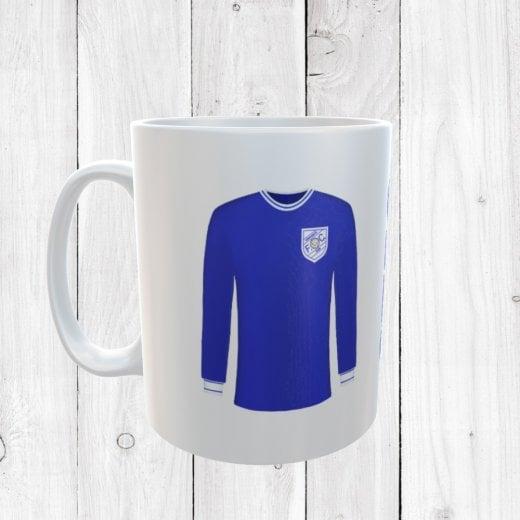 Retro Shrewsbury Town 65/68 Football Shirt Mug