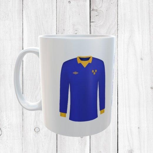 Retro Shrewsbury Town 72/73 Football Shirt Mug