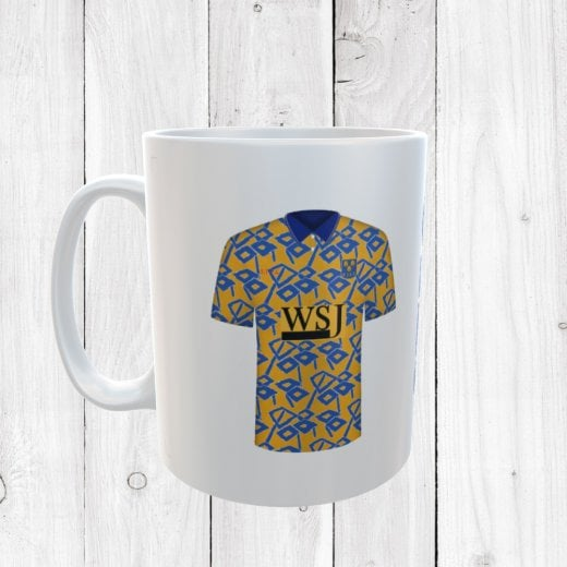 Retro Shrewsbury Town 92/93 Football Shirt Mug