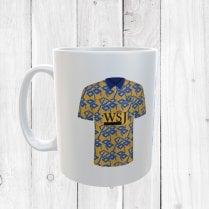 Retro Shrewsbury Town 92/93 Football Shirt Mug