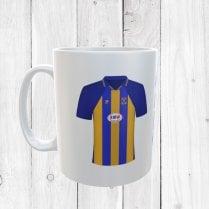 Retro Shrewsbury Town 99/01 Football Shirt Mug