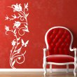 Rose Flower Wall Sticker