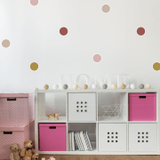 Rouge Polka Dot Sticker Pack