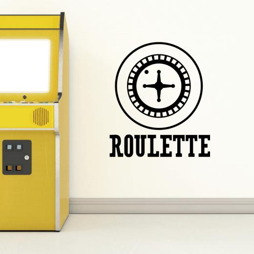 Roulette Wheel Wall Sticker