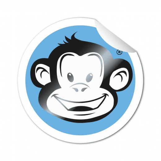 Round Stickers - Matt Gloss