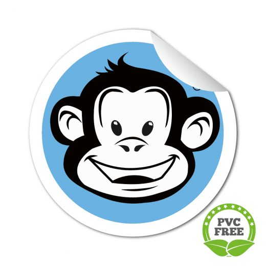 Round Stickers - PVC FREE Paper