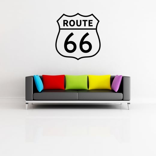 ROUTE 66 Wall Sticker