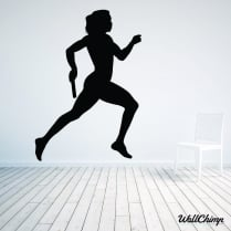 Runner Wall Sticker