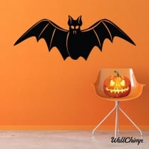 Scary Bat Wall & Window Sticker