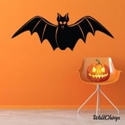 Scary Bat Wall & Window Sticker
