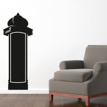 Signpost Blackboard Wall Sticker