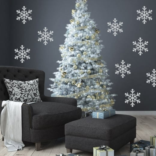 Snow Flake Wall Sticker Pack