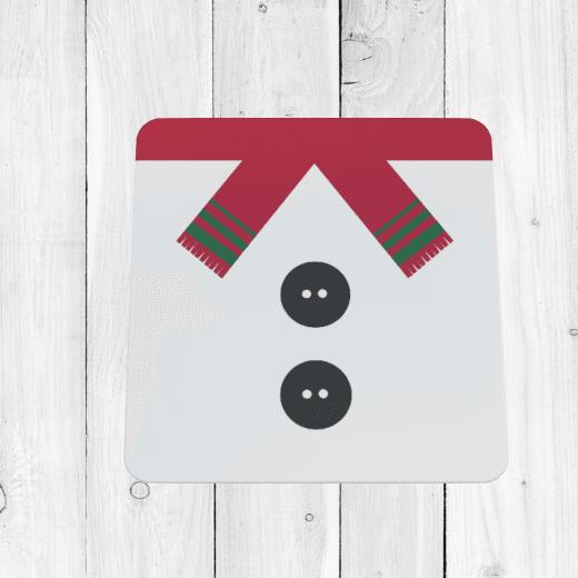 Snowman Christmas Coaster
