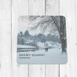 Snowy Quarry Shrewsbury Coaster
