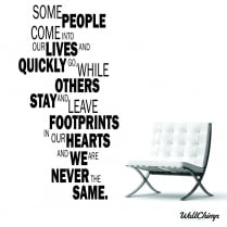 Some People Wall Sticker Quote