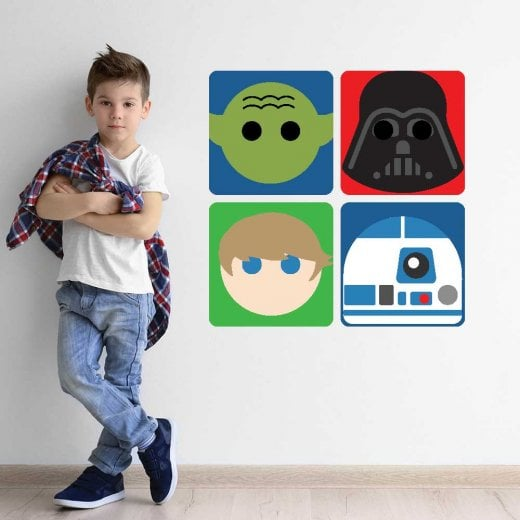 Space Hero's Wall Sticker Pack