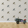 Spitfire Planes Sticker Pack
