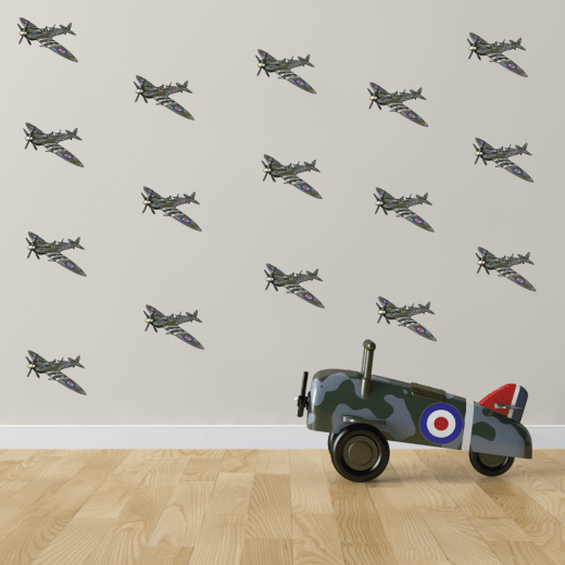 Spitfire Planes Sticker Pack