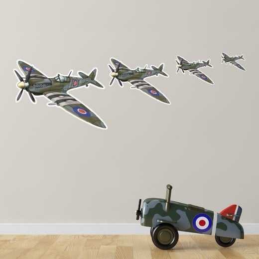 Spitfire Wall Sticker Pack