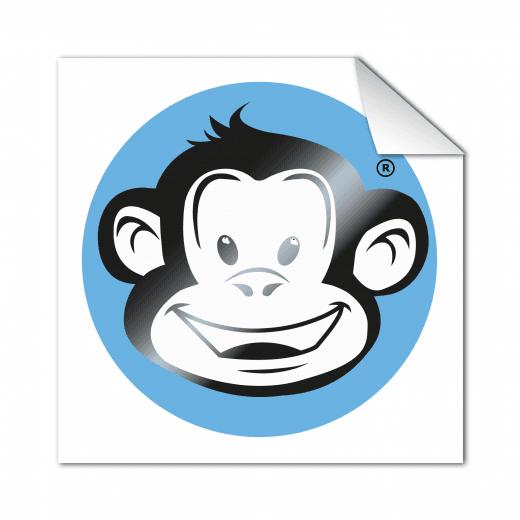 Square Stickers - Matt Gloss