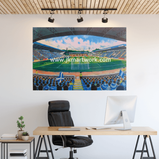 St Johnstone, McDiarmid Park Football Ground Wall Sticker