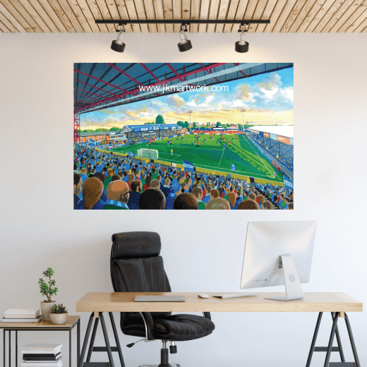 Stockport County, Edgeley Park Football Ground Wall Sticker