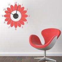 Sunflower Wall Sticker Clock