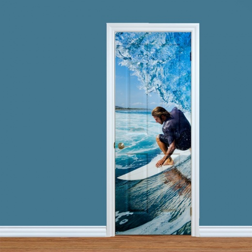 Surf Boarder Printed Door