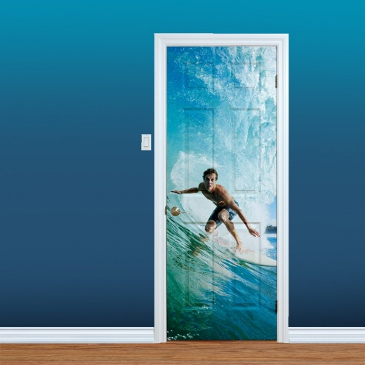 Surfer Wave UV Printed Door