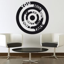 Take The Shot Wall Sticker Quote