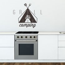 The Grill Wall Sticker