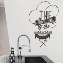 The House Special Wall Sticker Quote