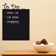 To Do Blackboard Wall Sticker