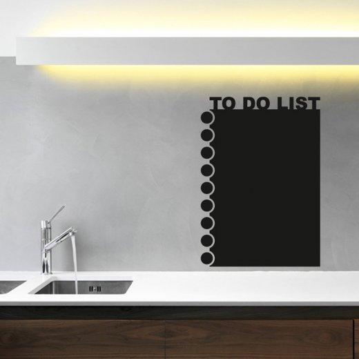 To Do List Blackboard Wall Sticker