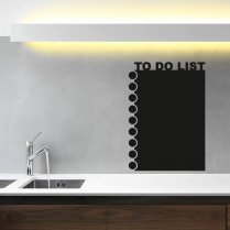 To Do List Blackboard Wall Sticker