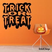 Trick Or Treat Wall & Window Sticker