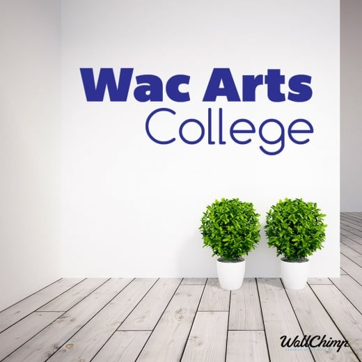 Wac Arts Custom Wall Sticker WC605QT