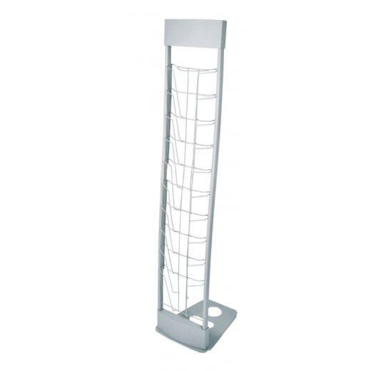 Wall Chimp 10-UP Deluxe Literature Stand