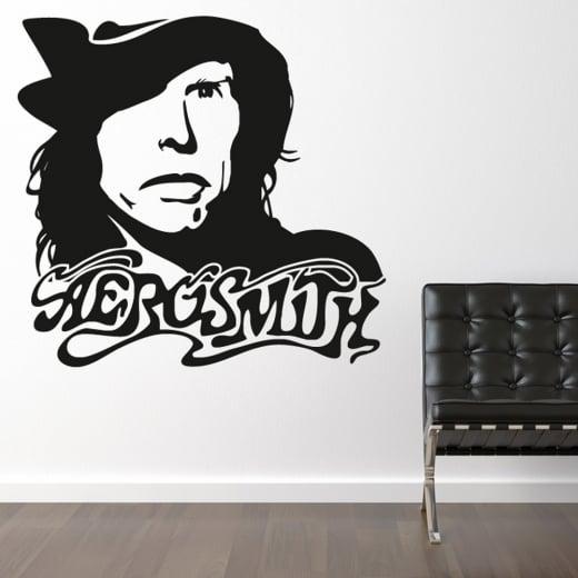 Wall Chimp Aerosmith Steven Tyler Wall Sticker