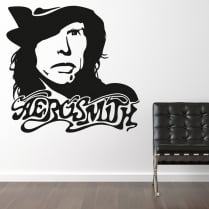 Aerosmith Steven Tyler Wall Sticker